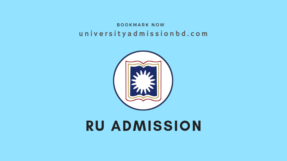 Rajshahi University Admission Circular 2019-20 6