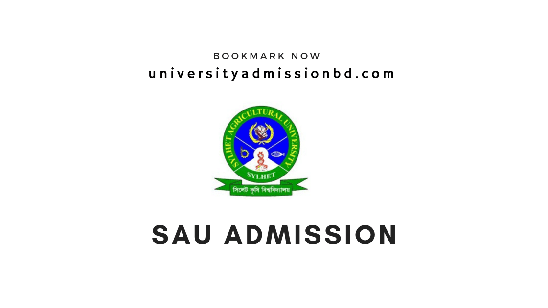 Sylhet Agricultural University Admission Circular 2019-20 4