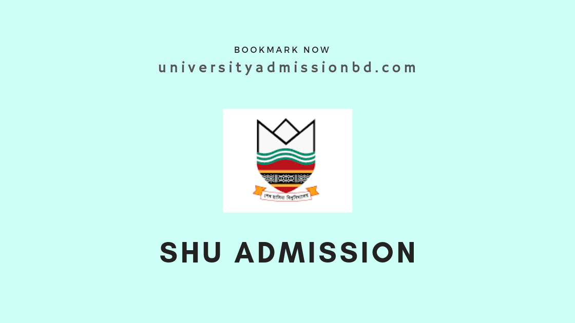 Sheikh Hasina University Admission Circular 2019-20 2
