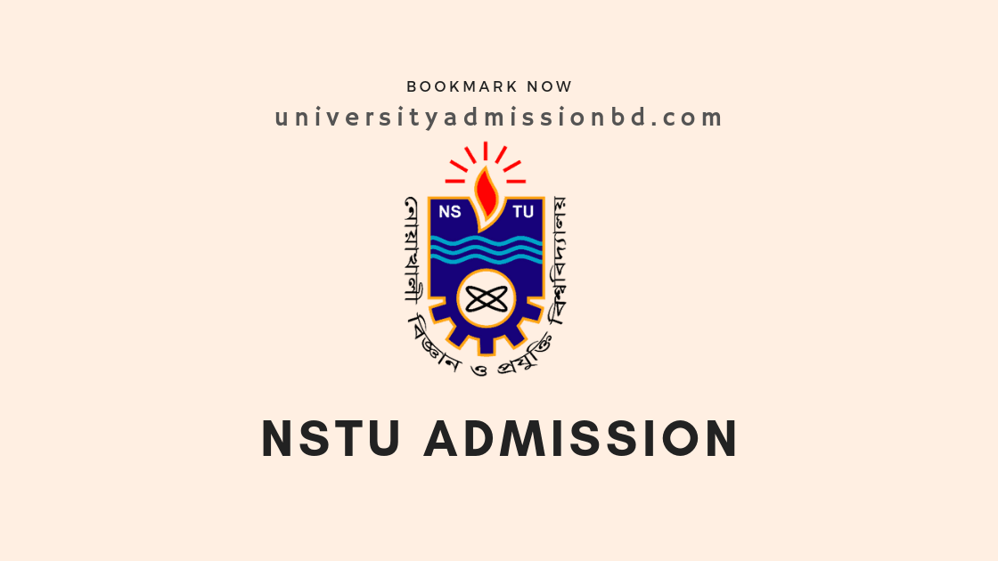 NSTU Admission Circular | Noakhali University Admission 2019-20 1