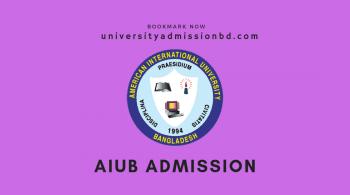AIUB Admission Spring 2020-21 16