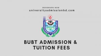 BUBT admission