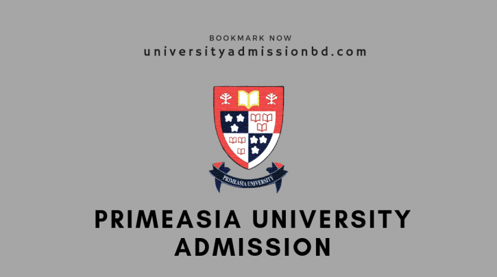 Primeasia University Admission Circular 2020-21 1