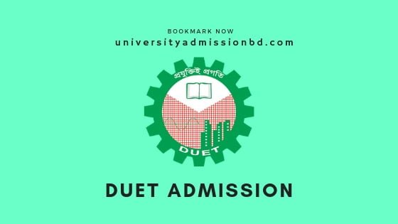 How to Apply on DUET Admission Circular 2019-20 2