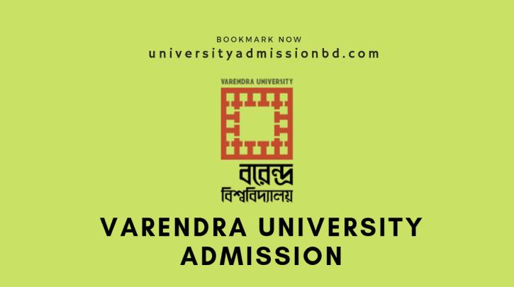Varendra University admission