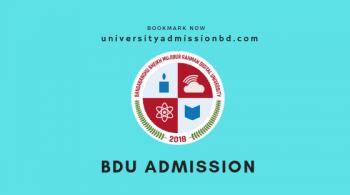 bdu admission