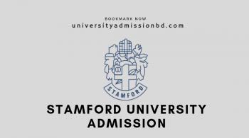 Stamford University Bangladesh Admission 2019-20 2