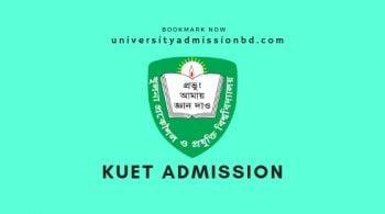 KUET Admission Circular 2019-20