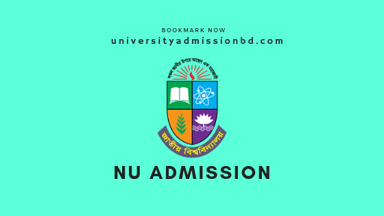 NU Admission: National University Honors Admission Circular 2020-21 2
