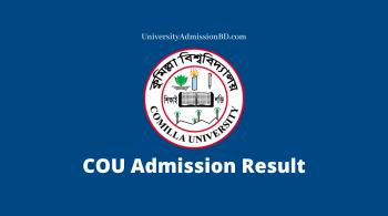 COU Admission Result